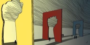 «Uvitenhet». Illustrasjon for sosiologen.no. 2015